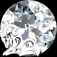 الماس سنگ ماه فروردین