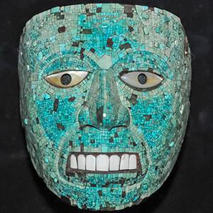 ماسک قبیله آزتک ها