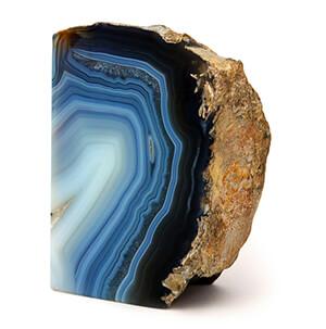 سنگ عقیق آبی معدنی