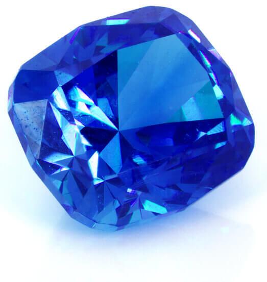 سنگ یاقوت آبی روشن