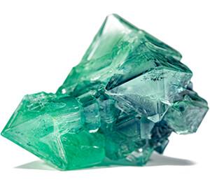 کریستال زمرد معدنی
