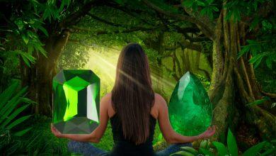 Photo of روانشناسی رنگ سبز ؛ رنگ درمانی با سنگهای سبز رنگ