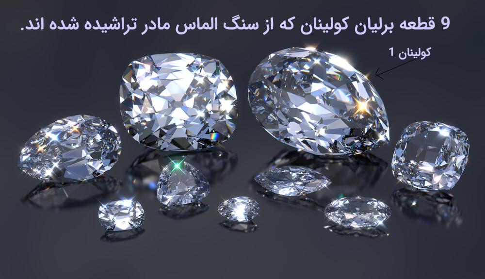 بزرگترین الماس جهان کولینان