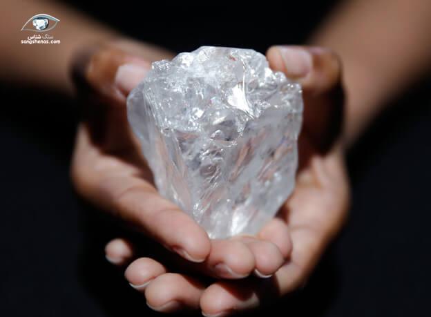 دومین الماس بزرگ پاک در جهان