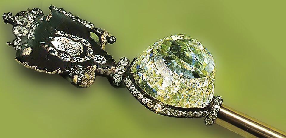 الماس سبز و آبی اورلف