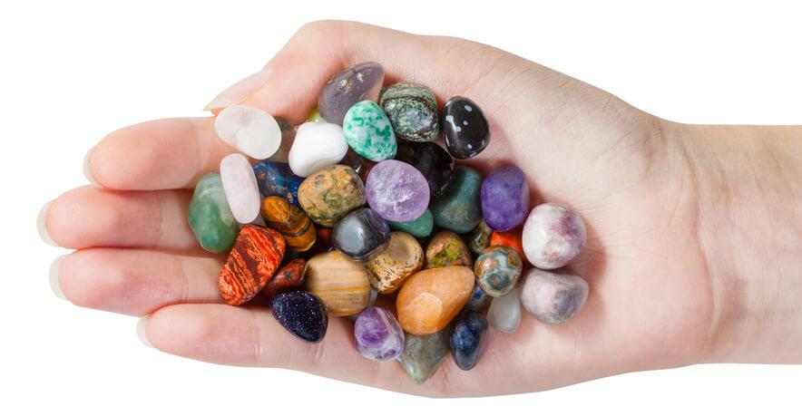 سنگهای تامبل شده و صیقلی