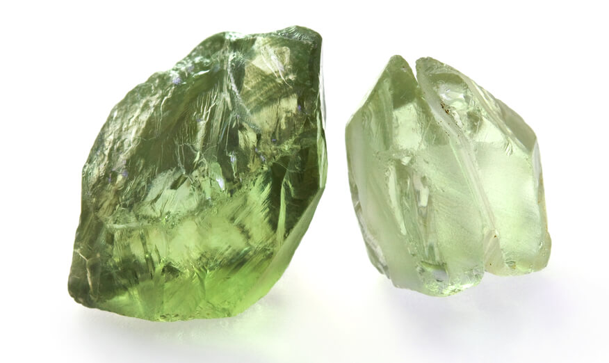 سنگ آمیتیست سبز رنگ
