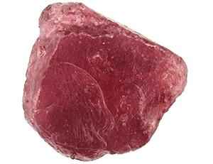 راف طبیعی سنگ یاقوت سرخ