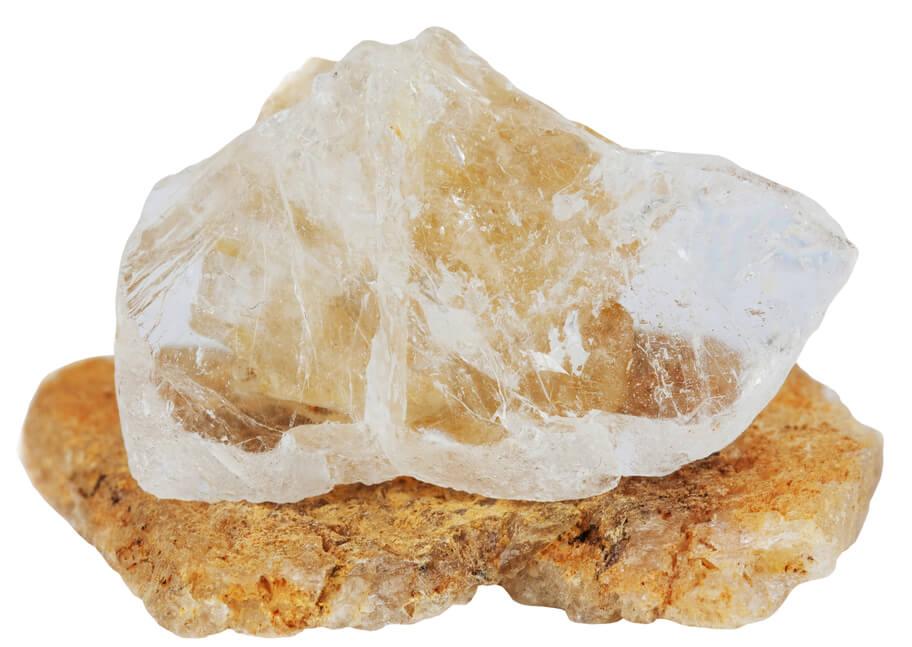 توپاز سفید طبیعی