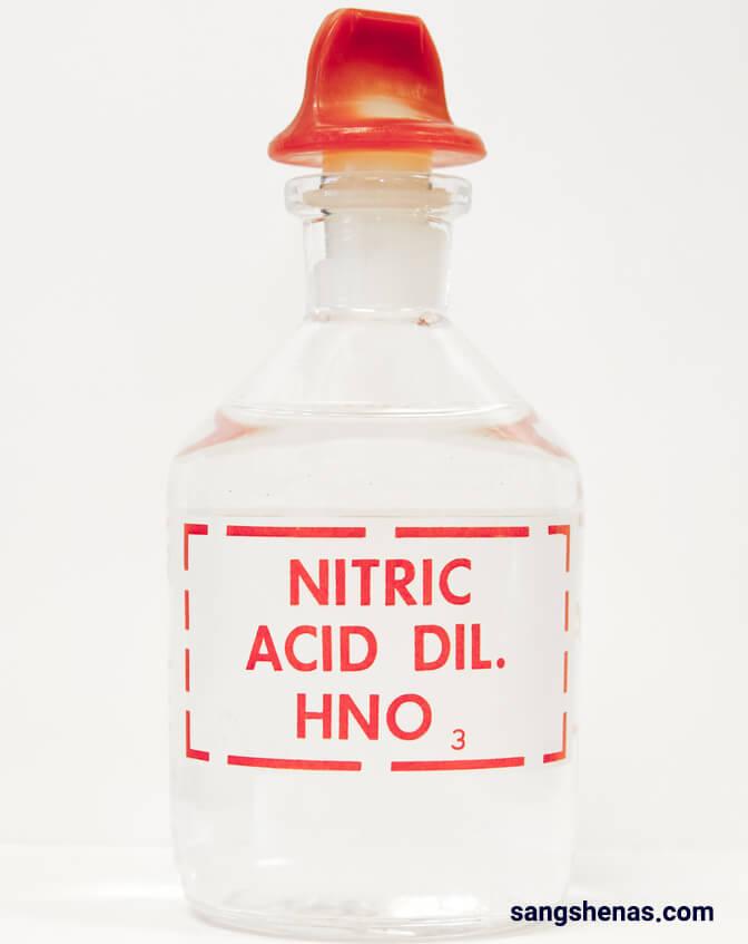 اسید نیتریک جهت بهسازی عقیق
