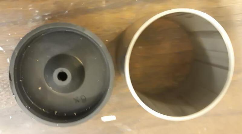 قالب فلزی مخصوص حرارت دهی سنگ قیمتی