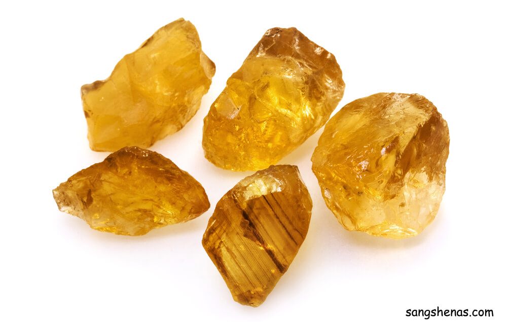 سنگ راف سیترین طبیعی