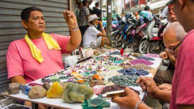قوانین فروش سنگهای قیمتی