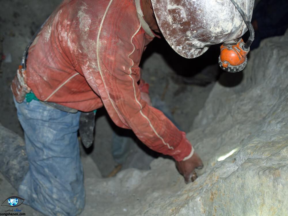 معدن سنگ آمترین آناهی (Anahi) بولیوی