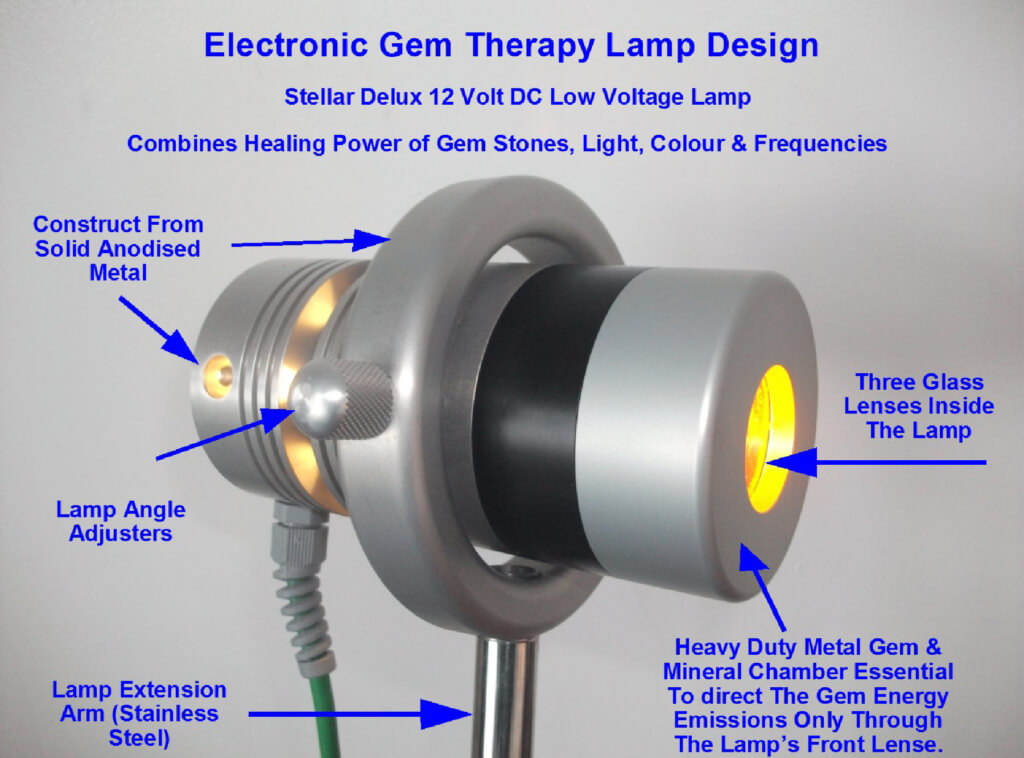 اجزای لامپ گوهر درمانی