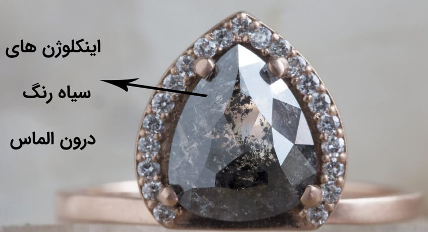اینکلوژن های الماس سیاه