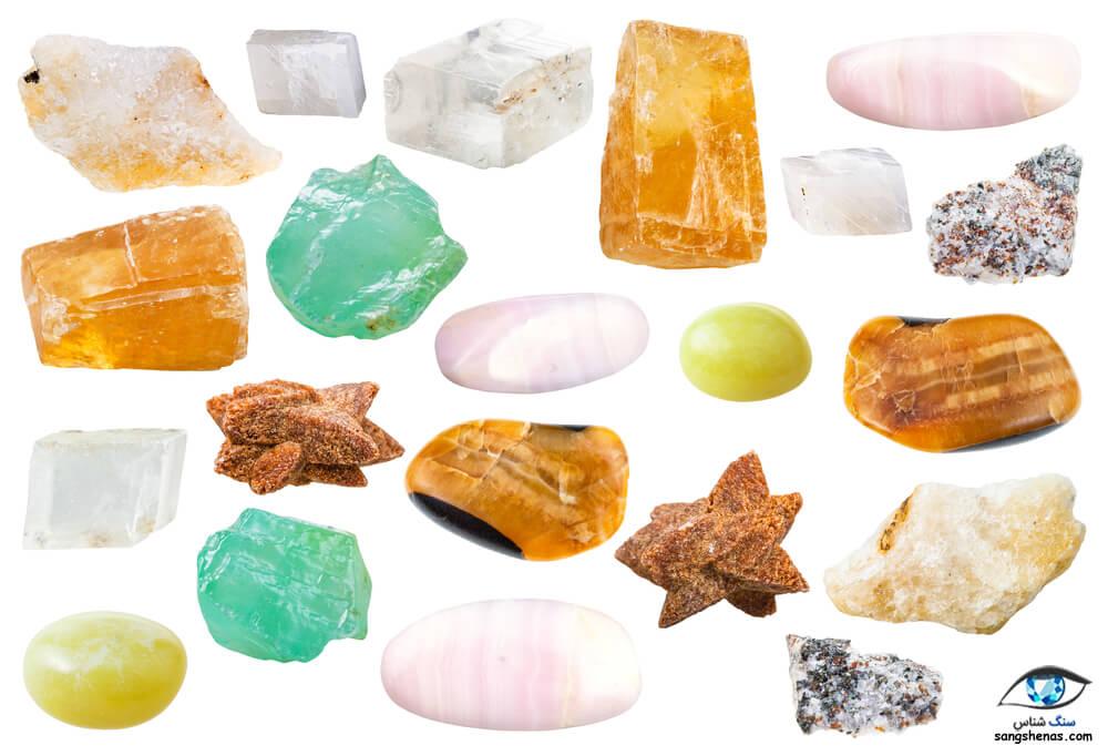 انواع سنگ کلسیت