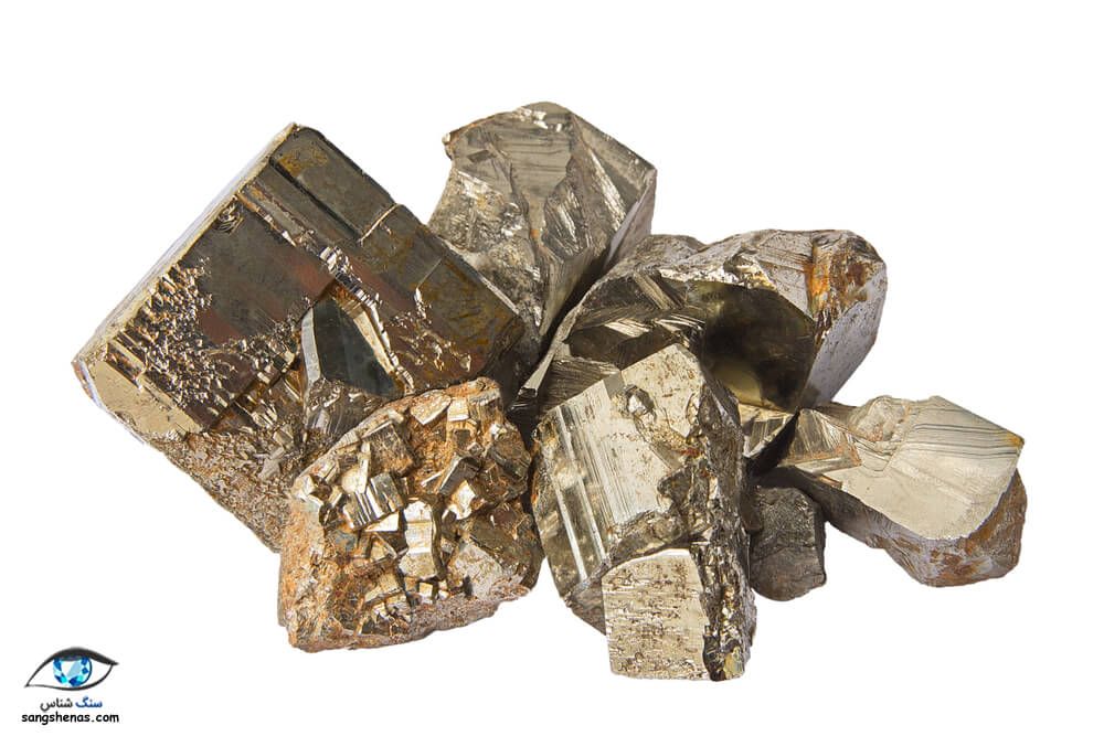 سنگهای پیریت طلا