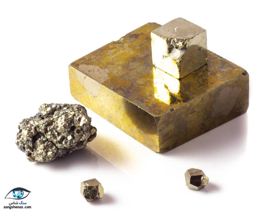 انواع سنگ پیریت