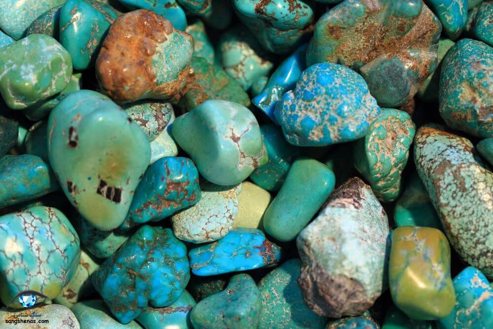 سنگهای فیروزه