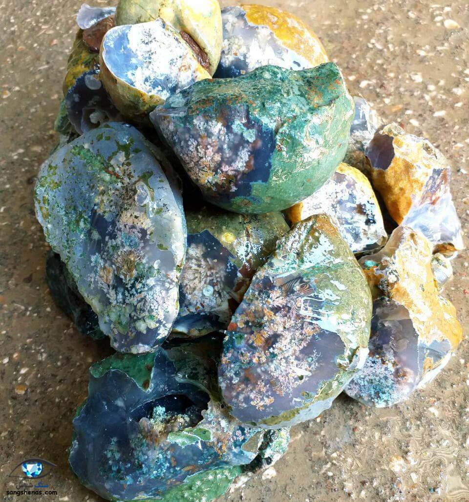 سنگ معدنی عقیق شجر فردوس