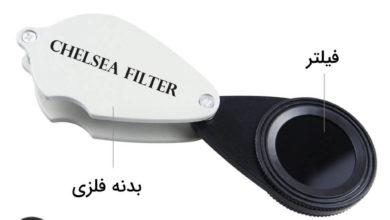 تصویر از فیلتر چلسی (Chelsea Filter) چیست؟ آموزش کار با ابزار گوهر شناسی فیلتر چلسی