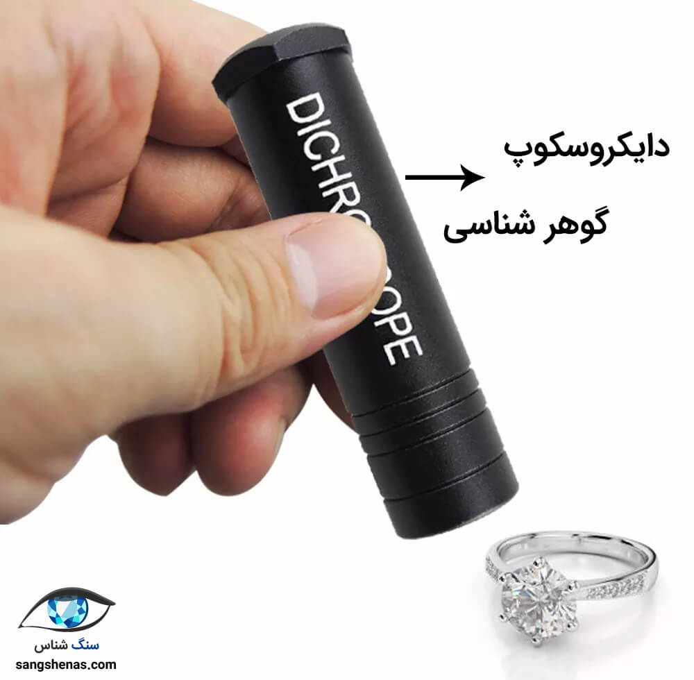 دیکروسکوپ گوهر شناسی