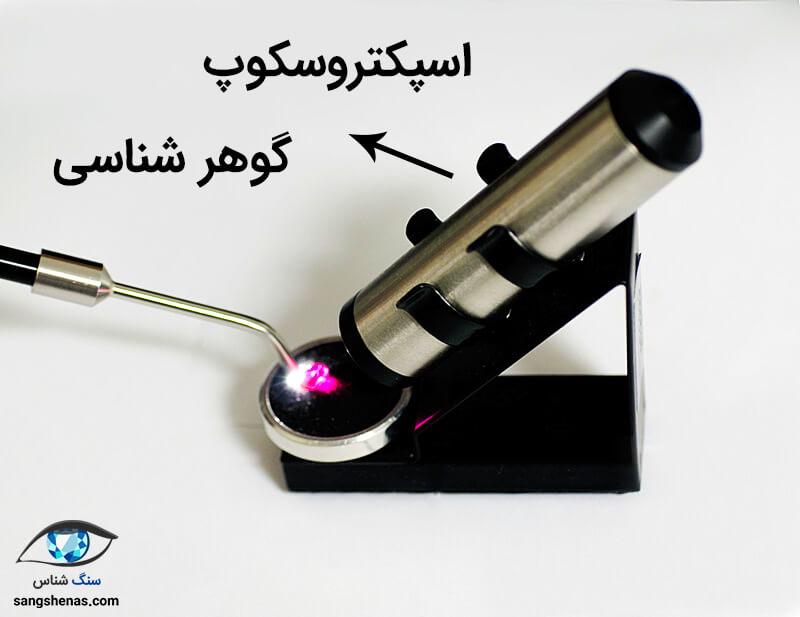 اسپکتروسکوپ گوهر شناسی