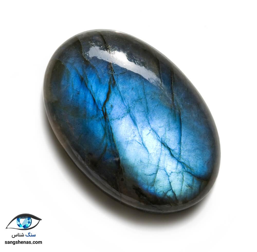 سنگ لابرادوریت آبی