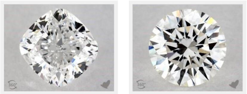 تفاوت قیمت انواع الماس