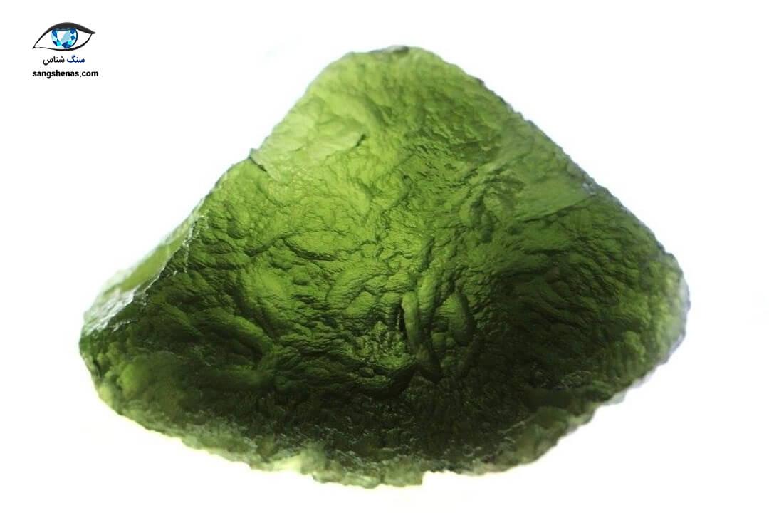 مولداویت سبز طبیعی