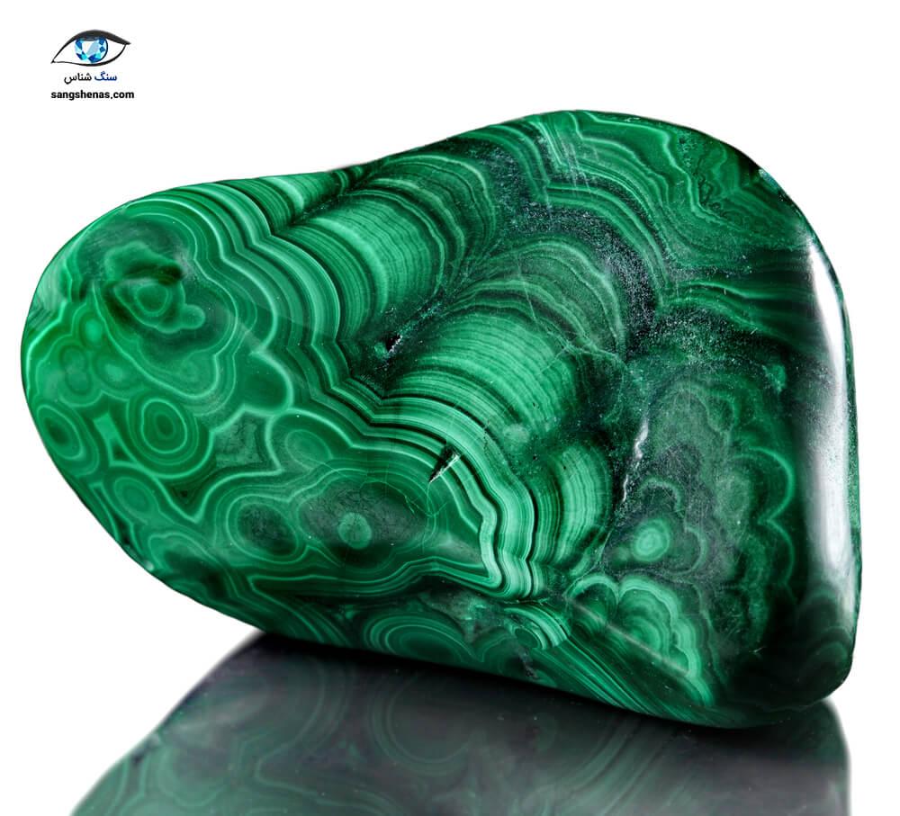 سنگ مالاکیت سبز