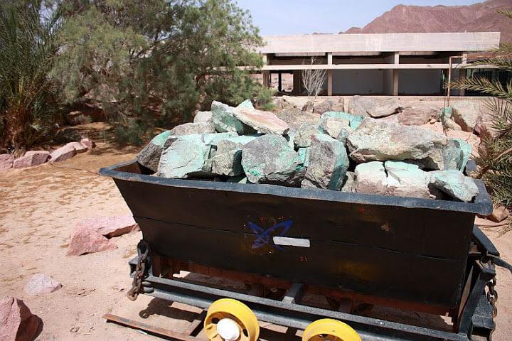 معدن مالاکیت در تیمنا اسرائیل
