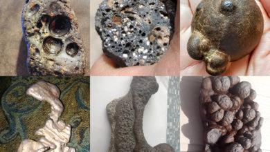 تصویر از این سنگها شهاب سنگ نیستند! تفاوت سنگهای معمولی با شهاب سنگ