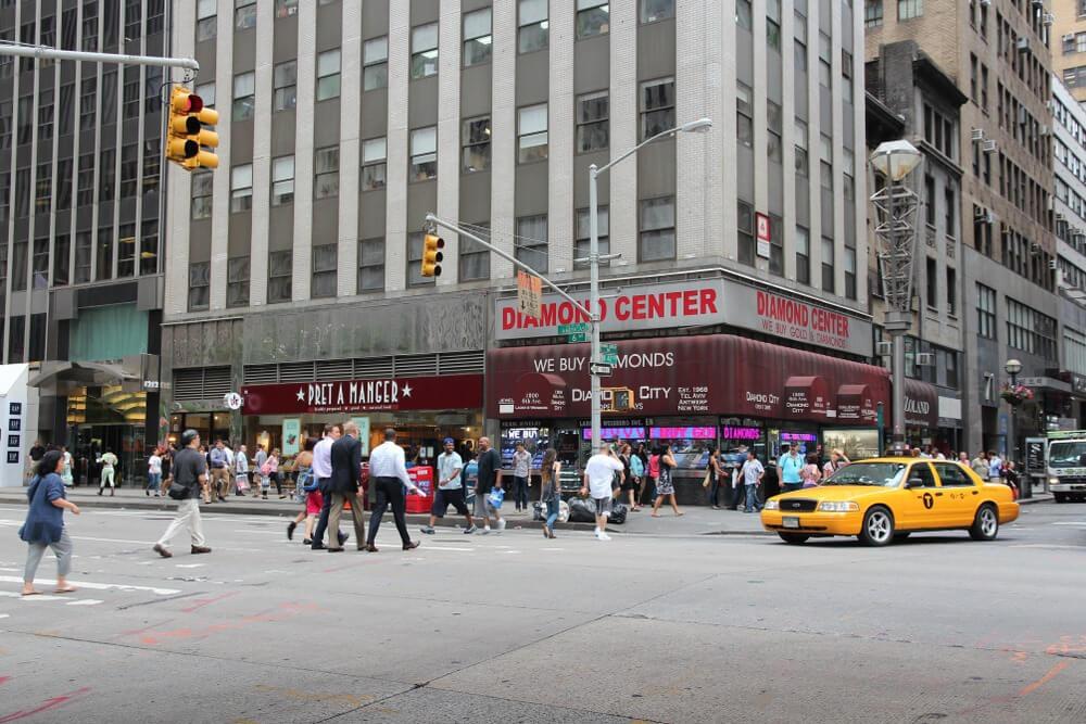 مرکز تجارت الماس در نیویورک