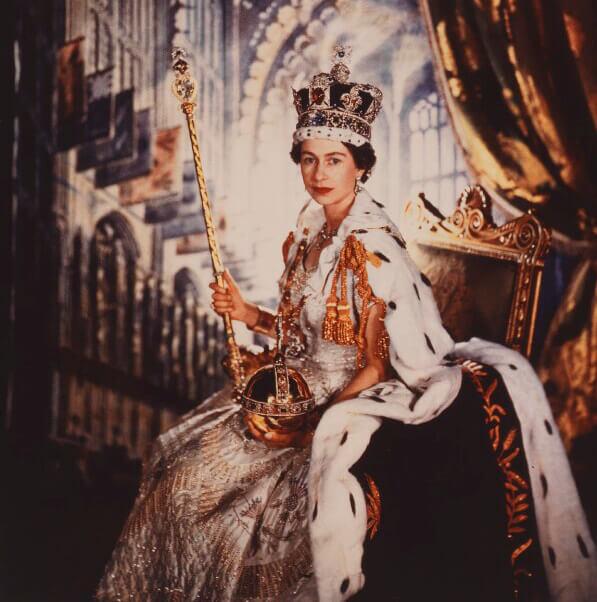 الماس کولینان یک در عصای سلطنتی ملکه الیزابت دوم