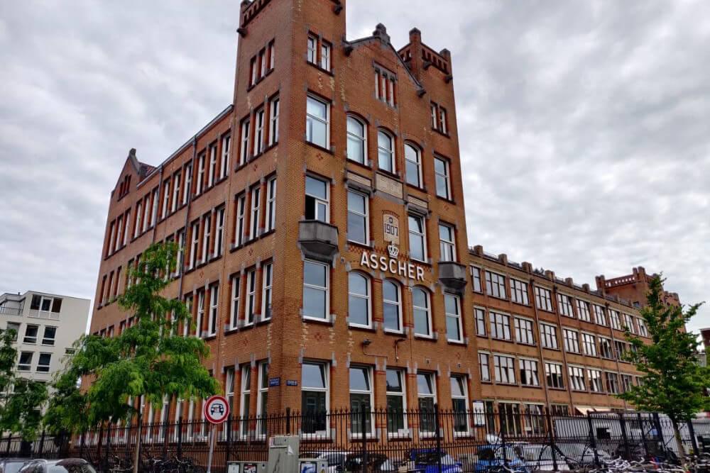 کارخانه تراش الماس آشر در آمستردام