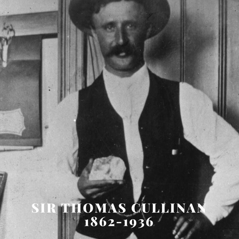 توماس کولینان همراه الماس