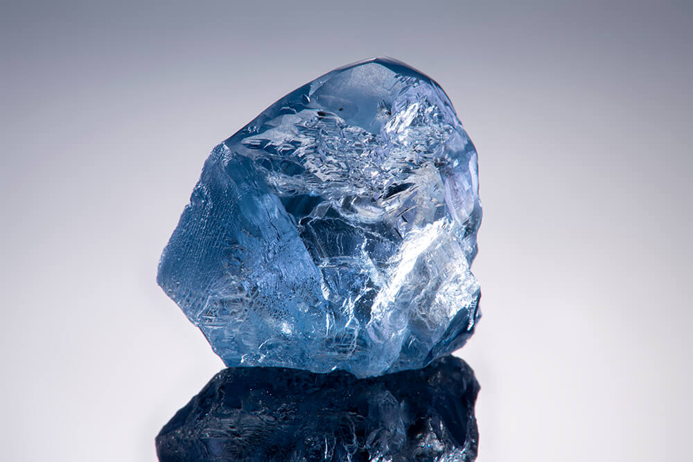 الماس آبی 30.8 قیراطی