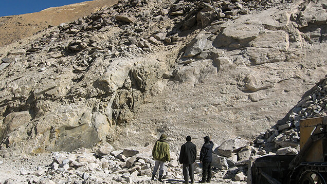 زمین شناسی یاقوت تاجیکستان