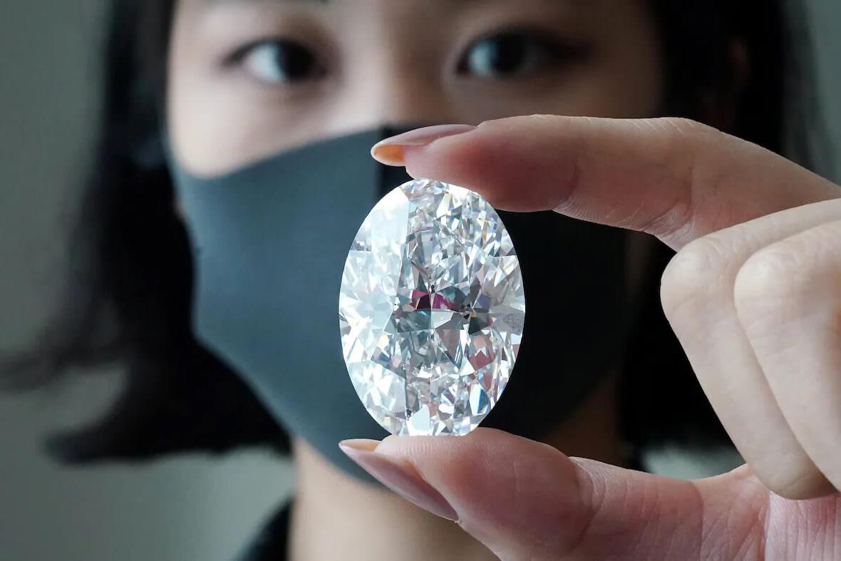 الماس بزرگ میلیون دلاری