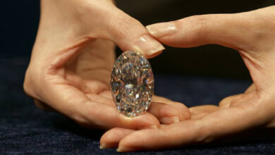 فروش الماس 102.39 قیراطی حراجی ساتبیز