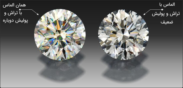 تراش دوباره الماس