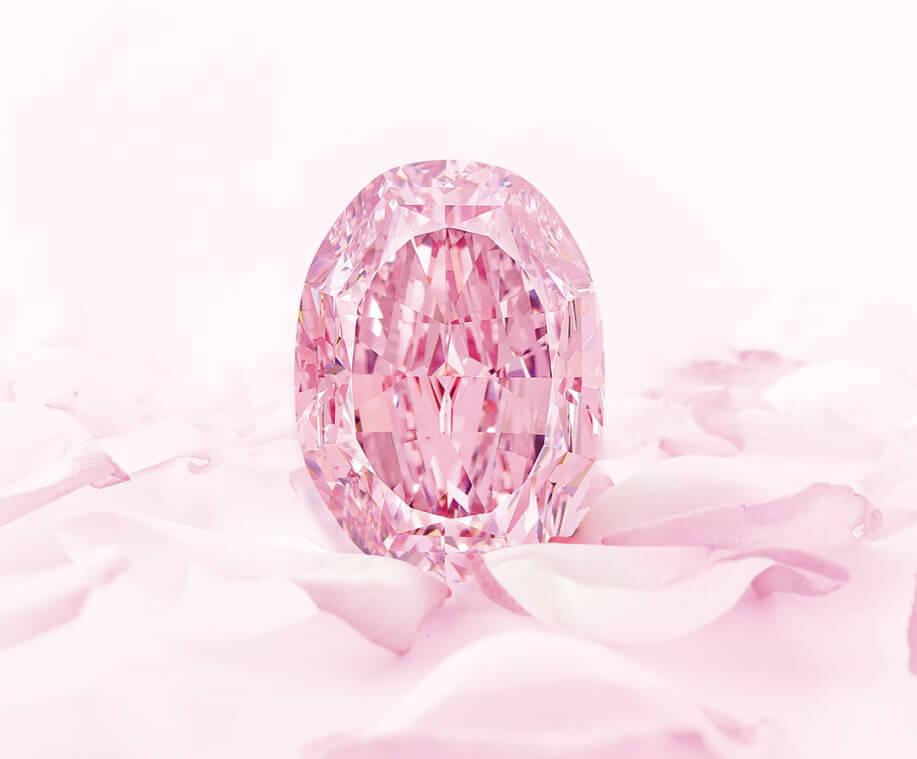 رکورد فروش الماس با رنگ صورتی - ارغوانی