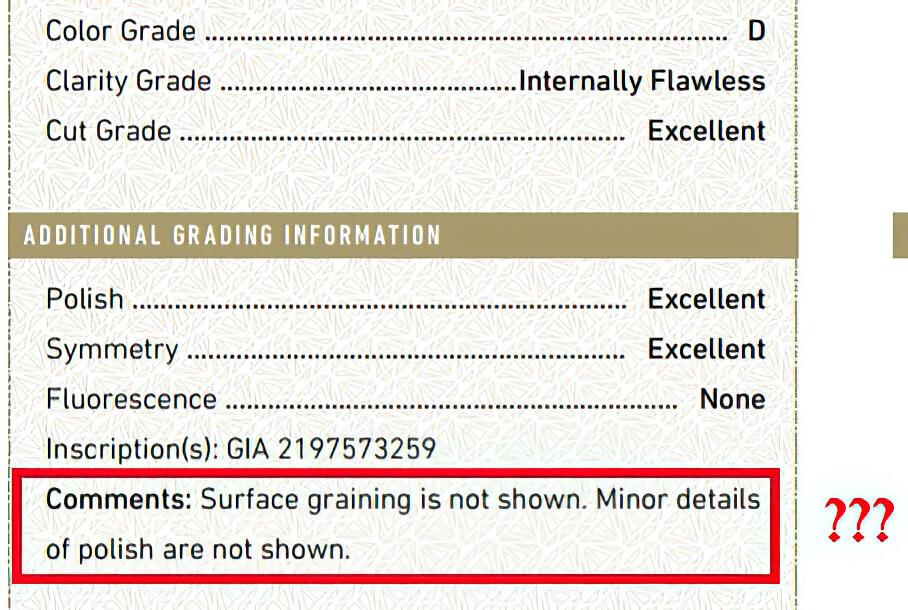 تفاوت الماس با درجه پاکی FL و IF