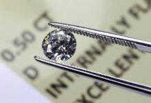 یک الماس با پاکی flawless