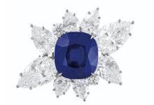 دستبند یاقوت آبی سلطنتی 6 میلیون دلاری