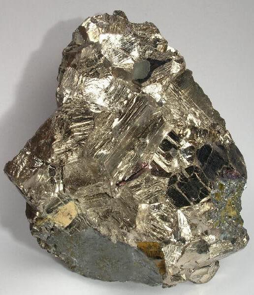 بیسموت طبیعی نیتیو از معدن پوتوسی بولیوی