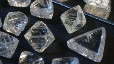 دلیل کمیابی الماس