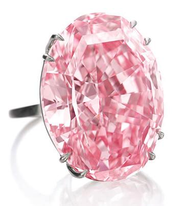الماس ستاره صورتی 59 قیراطی در حراجی ساتوبیز